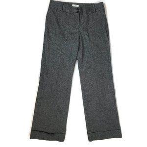 Ann Taylor Loft Marisa Cuff Pants Size 8 Gray
